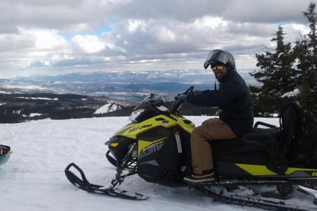 CREST Fellow studies water content in Colorado snowpack