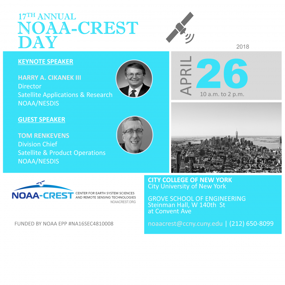 COUNT DOWN: NOAA-CREST Day is April 26
