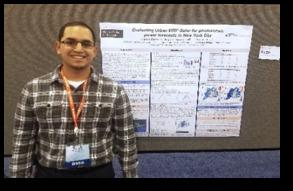 NOAA-CESSRST Scholar Harold Gamarro wins AMS Poster Competition 2019