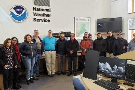 SPOTLIGHT:  NOAA CESSRST and CCNY Delegates visits University of Maine at Presque Isle