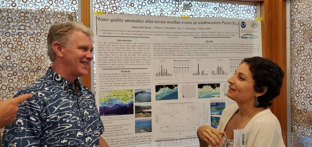 Two NOAA-EPP CESSRST  Scholars Receive Best Research Presentation Awards at NOAA NESDIS Annual CoRP