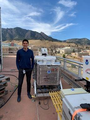 Adrian Diaz-Fortich Successfully Defends Thesis to Become Second NOAA CESSRST Fellow to Complete PhD