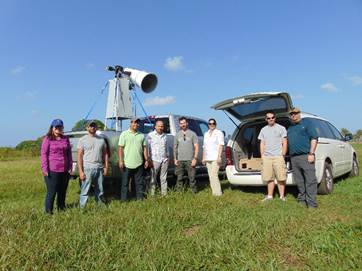 Soil moisture field experiment carried out during Feb 2016 at Western part of Puerto Rico in collaboration with scientist from GRL/ ERDC, US. Army Corps of Engineers